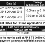 Andhra Pradesh EAMCET Hall Ticket 2018 | Check Exam Date, Admit Card @ sche.ap.gov.in