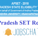 Andhra Pradesh SET Results 2018 | Download AP SET Exam Answer Keys, Cut Off Marks @ apset.net.in