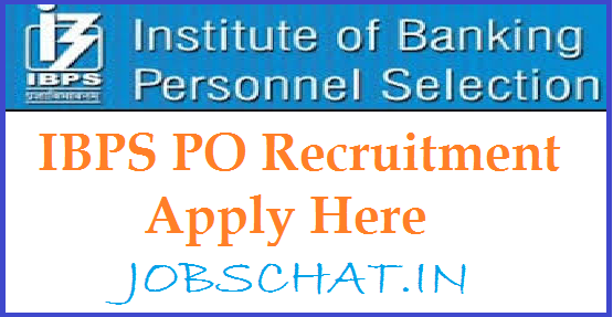IBPS PO Recruitment Notification