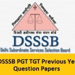 DSSSB PGT, TGT Previous Papers PDF 2017 | Download Sample Papers @ delhi.gov.in