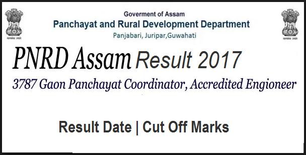 PNRD Assam Results