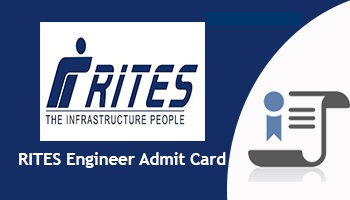 RITES Engineer Admit Card