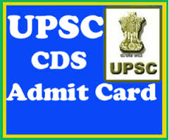UPSC CDS II Admit Card
