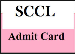 SCCL MT Admit Card