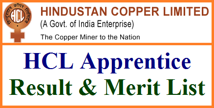 Hindustan Copper Limited Trade Apprentice Results