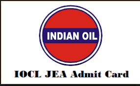 IOCL Jr.Engineering Assistant Admit Card