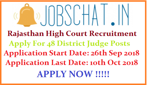 Rajasthan High Court Recruitment