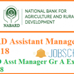 NABARD Assistant Manager Admit Card 2018 | Download Asst Manager Group A Admit Card @ www.nabard.org