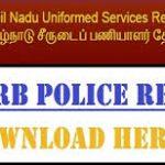 TN Police Constable Results 2018   Check Constable Cutoff Marks, Merit List @tnusrbonline.org