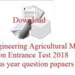 AP EAMCET Previous Papers 2018 | Download EAMCET Solved Question Papers Pdf @ sche.ap.gov.in