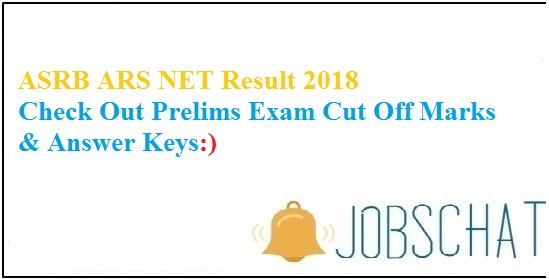 ASRB ARS NET Result