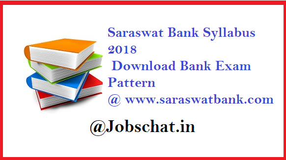 Saraswat Bank Syllabus