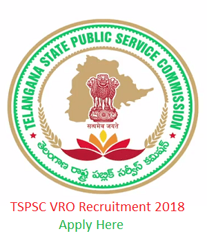 TSPSC VRO Recruitment