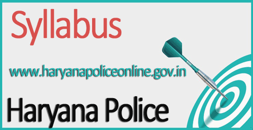 Haryana Police Constable Syllabus