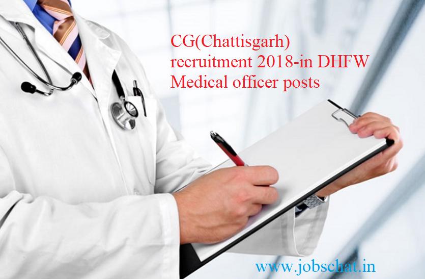 CG Health MO Recruitment for 423 Vacancies