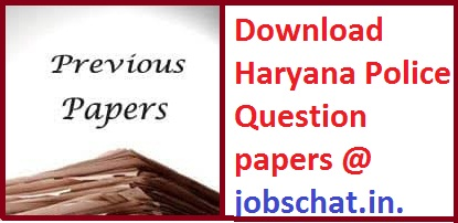 Haryana Police previous papers