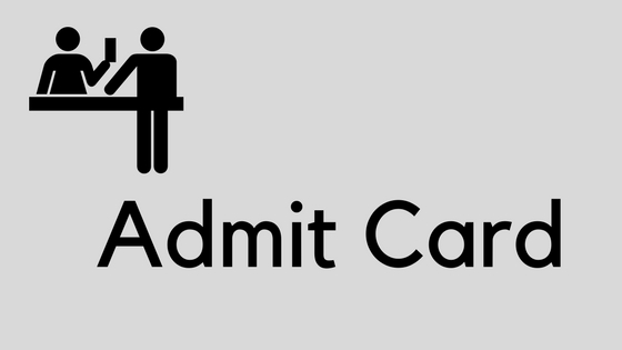 MCL Mining Sirdar Admit Card