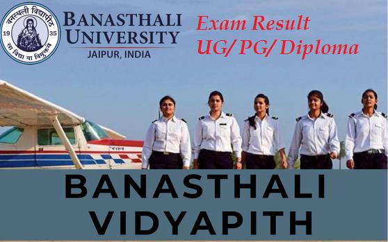 Banasthali University Results