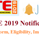 GATE Notification 2019   Check GATE 2018 Eligibility, Registration, Dates @ gate.iitm.ac.in