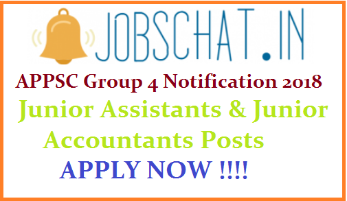 APPSC Group 4 Notification