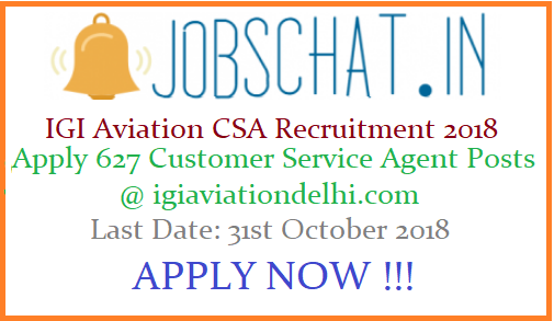 IGI Aviation CSA Recruitment