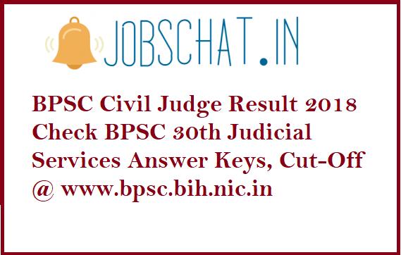 BPSC Civil Judge Result