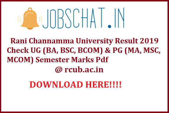 Rani Channamma University Result