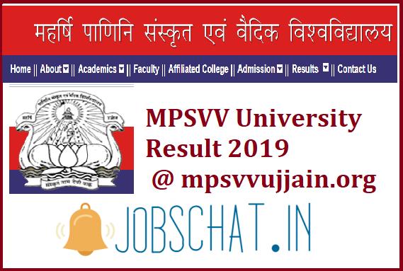 MPSVV University Resul