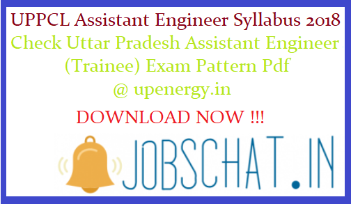 UPPCL Assistant Engineer Syllabus