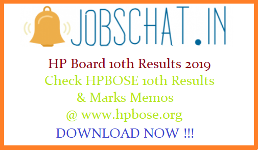 HP Board 10th Results