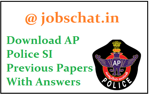 AP Police SI Previous Papers