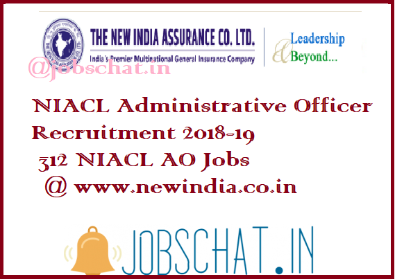 NIACL Administrative Officer Recruitment