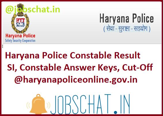 Haryana Police Constable Result