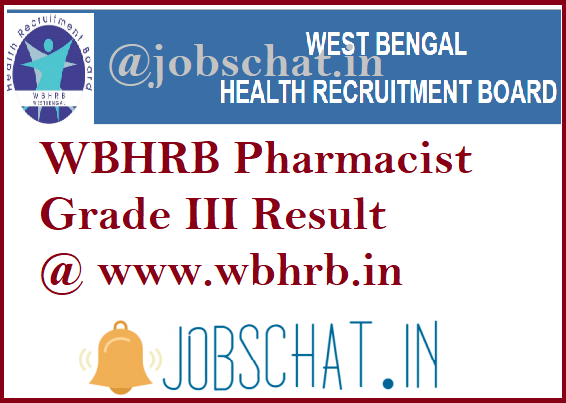 WBHRB Pharmacist Result