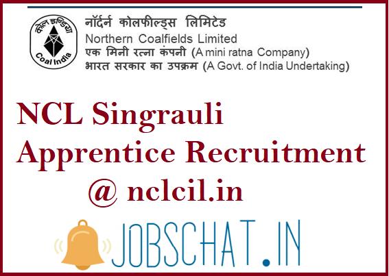 NCL Singrauli Apprentice Recruitment
