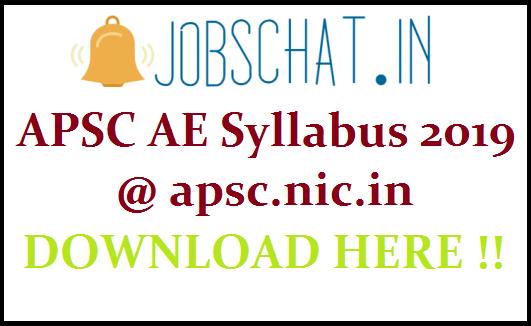 APSC AE Syllabus
