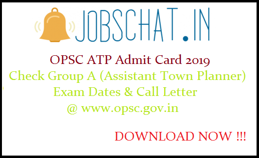 OPSC ATP Admit Card