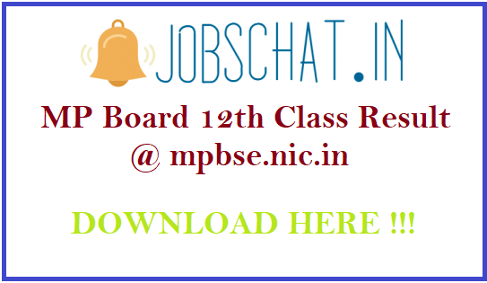 MP Board 12th Class Result