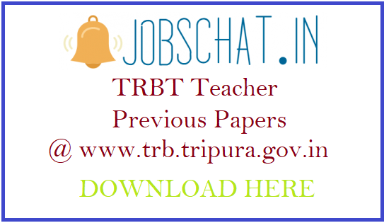 TRBT Teacher Previous Papers
