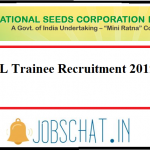 NSCL Trainee Recruitment 2019