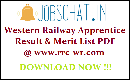 Western Railway Apprentice Result